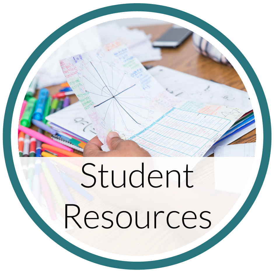 Student Resources like handouts, video tutorials, and more!